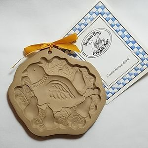 RETIRED Partridge by Brown Bag Cookie Mold NWT